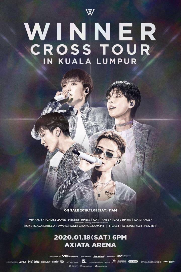 VIP SECTION 301 FOR SALE ( WINNER CROSS TOUR IN KUALA LUMPUR )