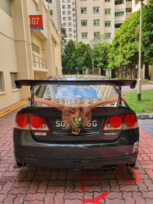 Wedding Car Rental With Driver