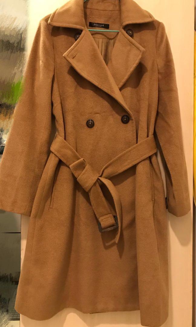 Winter Coat 卡其色 大嬲 long jacket