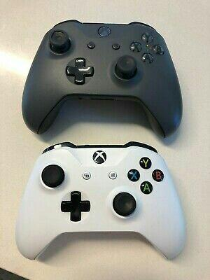 Xbox One S 500 GB STORM GREY Console + 2 Controllers + 13 Games BUNDLE