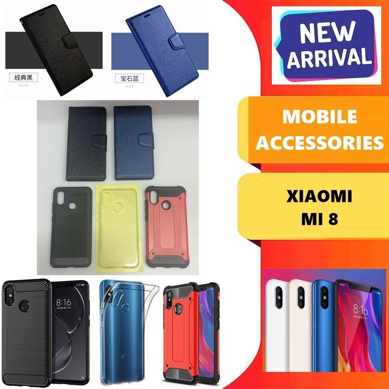Xiaomi Mi 8 Mobile Accessories  ( From $8 onwards)