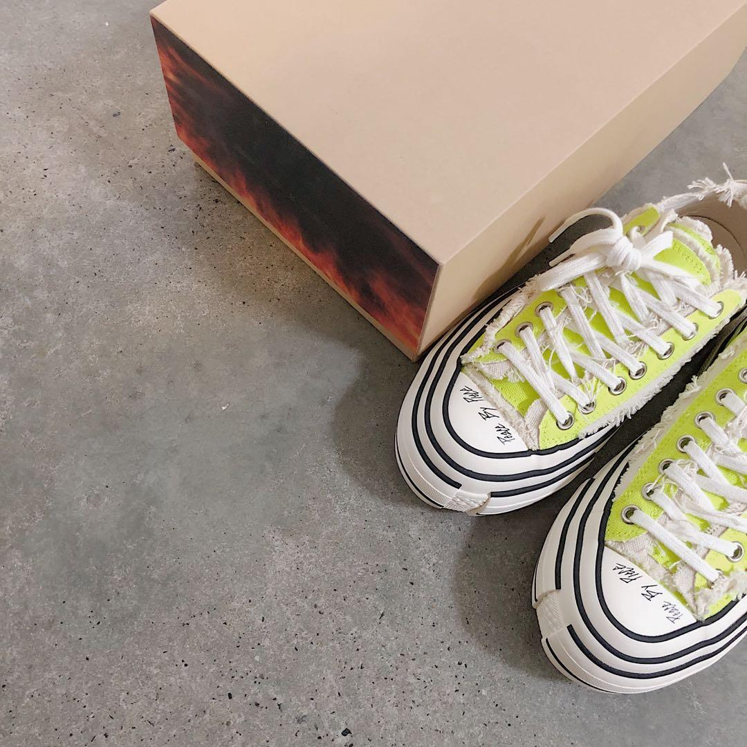 Xvessel GOP Lows Sneaker 'peace by piece' by Vanessa Wu