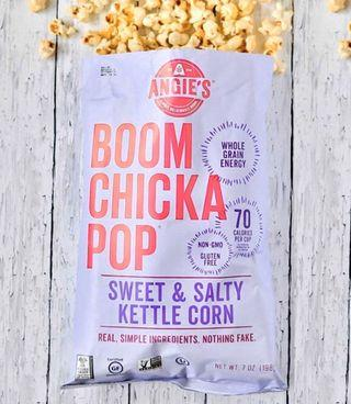 Costco好市多 ANGIE'S 鹹甜爆米花 198g  popcorn