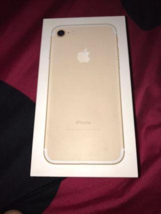 I Phone 7 128g 續約拆封新機貼換I8以上
