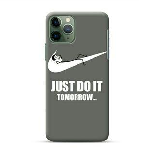 Just Do It Tomorrow iPhone 11 Pro Custom Hard Case