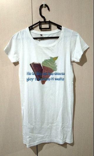 YOMI white T-shirt