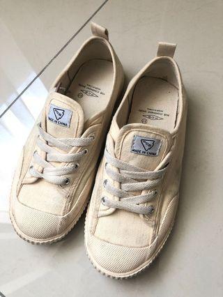 奶油鞋 37號二手