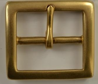 Belt Buckle Solid Brass Square Shape Free Shipping