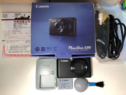 原廠公司貨 二手 Canon Power Shot S95 數位相機