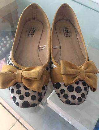 Flat Shoes Polkadot #1111special