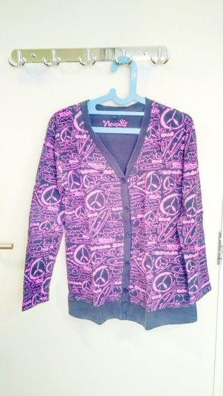 Cardigan Black Pink merk Nevada