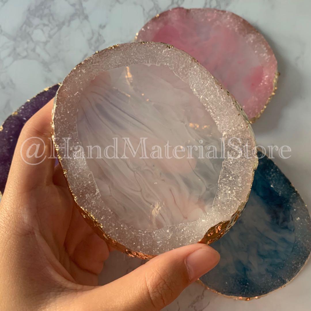 仿瑪瑙水晶樹脂10cm*9cm*1cm