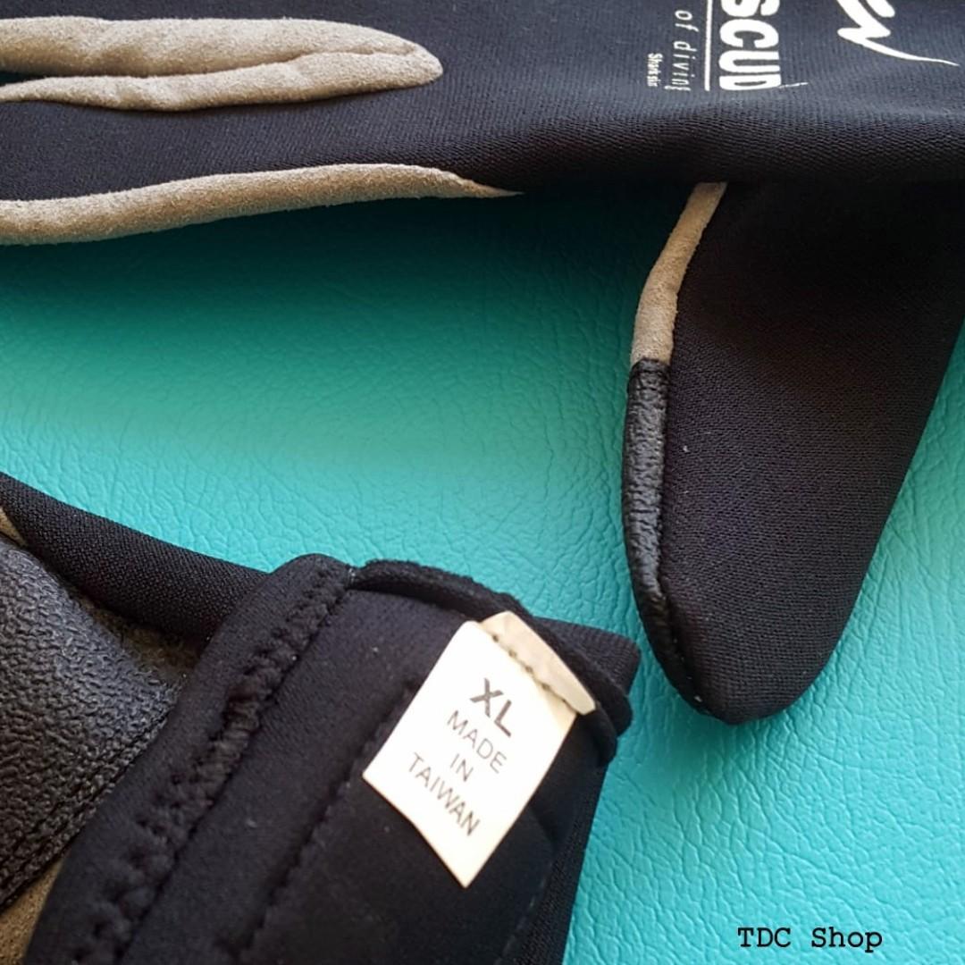 #1111special Sarung Tangan Shark Skin Amscud Size XL