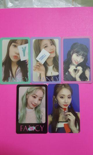 Twice Fancy OFFICIAL Photocard