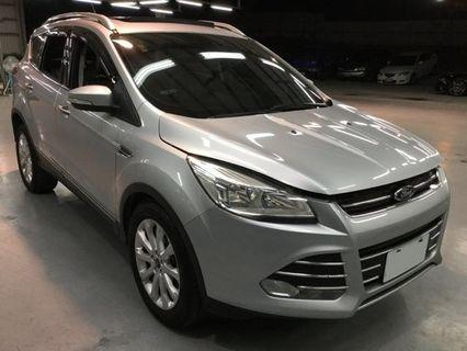 【高CP值優質車】2014年 FORD KUGA 4G【經第三方認證】【車況立約保證】