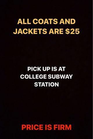Coats & Jacket Sale