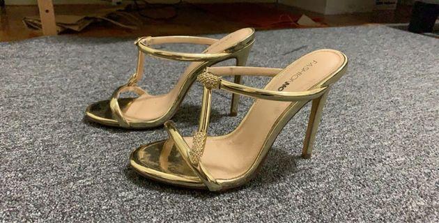 Fashionnova Gold Heels