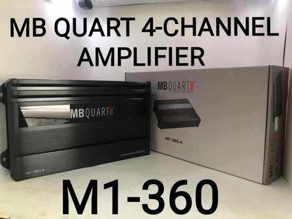 MB QUART AMPLIFIEER 4CHANNEL