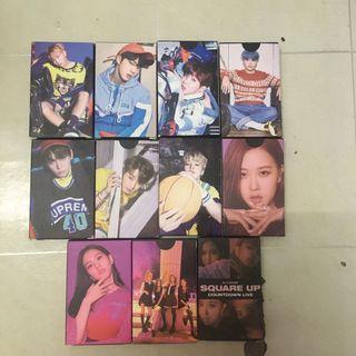 BTS & Blackpink Lomocards