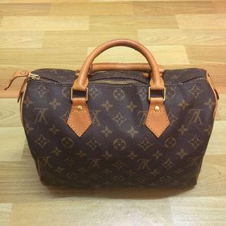 Authentic Louis Vuitton Speedy 30 bag LV