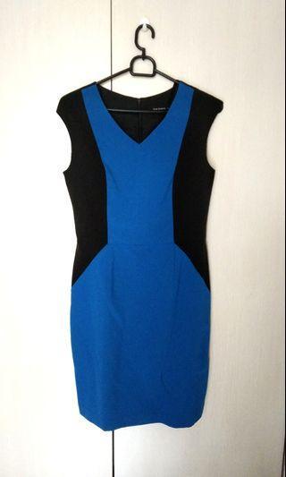 Executive blue dress kantor