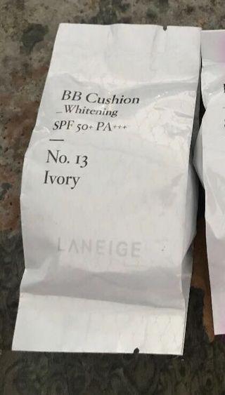 蘭芝 LANEIGE 水聚光淨白氣墊粉霜補充包