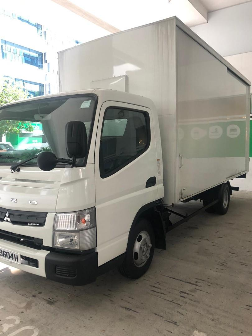 14ft Box Lorry Delivery Contractor