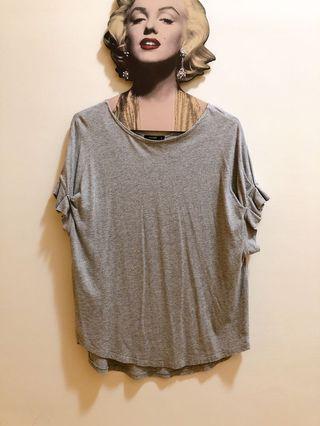 Pazzo  台製 袖口造型棉質柔軟舒適上衣