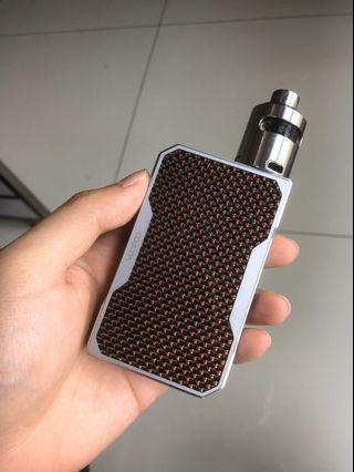 Voopoo DRAG Red Carbon + Tsunami RDA (free 2 batteries)