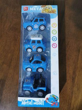 Doraemon Lovely Alloy Car Toy Permainan Kereta Set