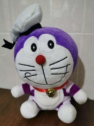 Purple Sailor Doraemon Soft Toy Doll Patung Plush