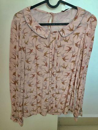Pink Sparrow Top / Blouse  by Next