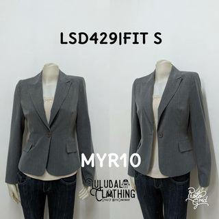 Grey Blazer Stripe