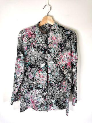 Floral Blouse(Buy 2 RM25 with FREE POSTAGE)