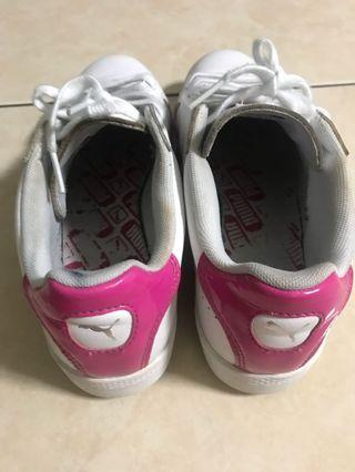 Puma 經典logo 平底鞋#真皮 24cm