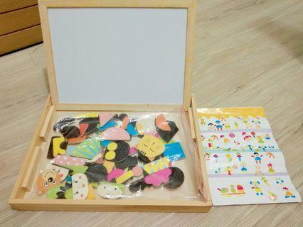 Wooden Magnetic Puzzle