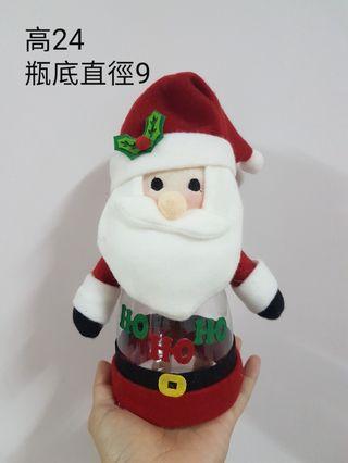 聖誕老人裝飾收納罐