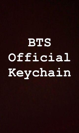 (WTB)  BTS official Keychains
