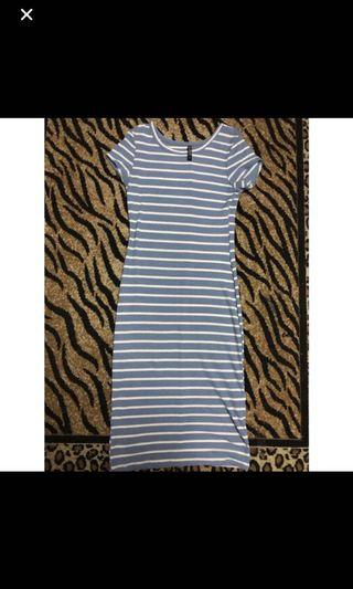 Striped dress  cotto on