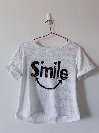 #剁手時尚 Smile雪紡上衣