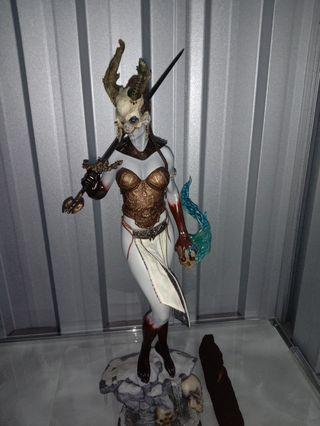 Sideshow 1/4 scale Court of the Dead Kier Valkyrie statue