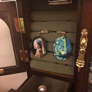 文藝復興夾式耳環  #剁手時尚