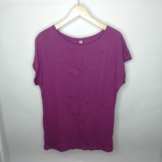 Uniqlo Tee Purple