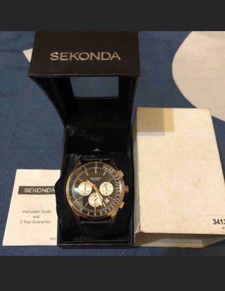 Sekonda Men's Rose Plated Chronograph Watch 型號: N3413 玫瑰金