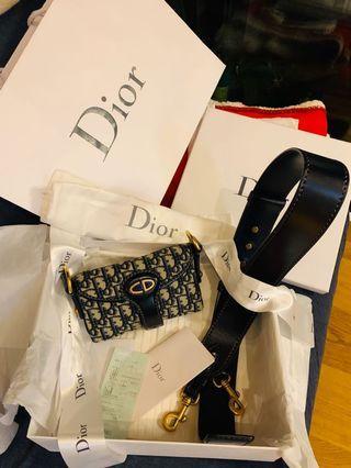 Dior oblique 雷哈娜款「9.5新」