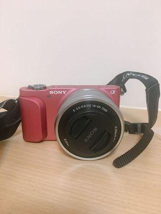 Sony NEX-3N 類單眼女用相機 可翻轉 粉色