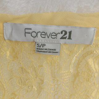 Sale 50% Forever21 Yellow Tanktop
