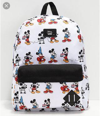 Vans X Mickey  Backpack