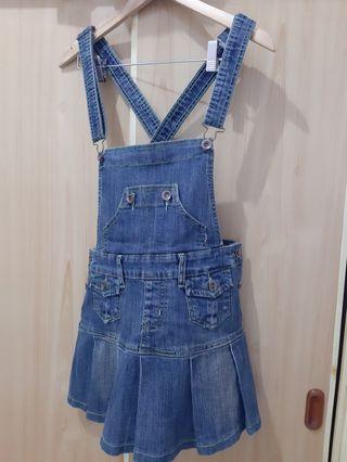 全新可愛牛仔連身裙 #五折清衣櫃