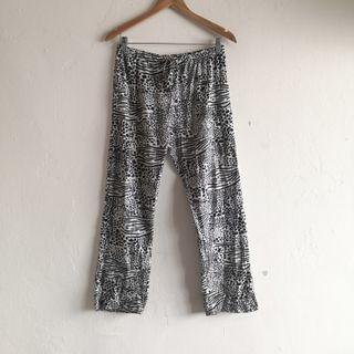 Polyester Fluffy Pajama Pants